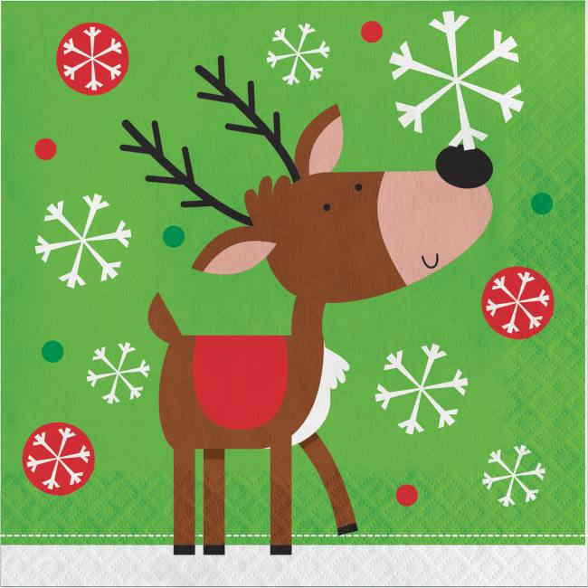 Snowflake Fun Lunch Napkins  sc 1 st  Party at Lewis & Snowflake Fun Lunch Napkins: Party at Lewis Elegant Party Supplies ...