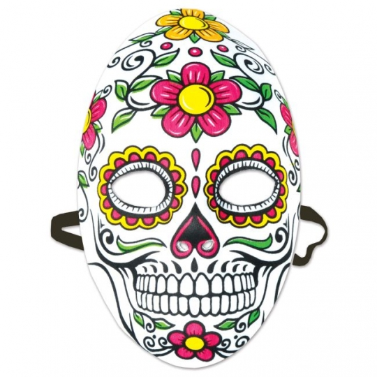Day of the Dead Paper Masks