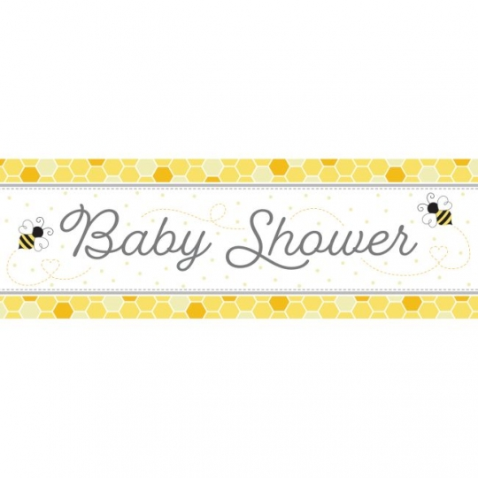 Bumblebee Baby Giant Baby Shower Banner Party At Lewis Elegant