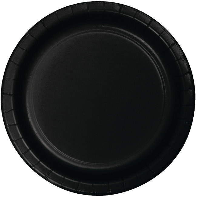 Black Heavy Duty 10-inch Paper Plates  sc 1 st  Party at Lewis & Black Heavy Duty 10-inch Paper Plates: Party at Lewis Elegant Party ...