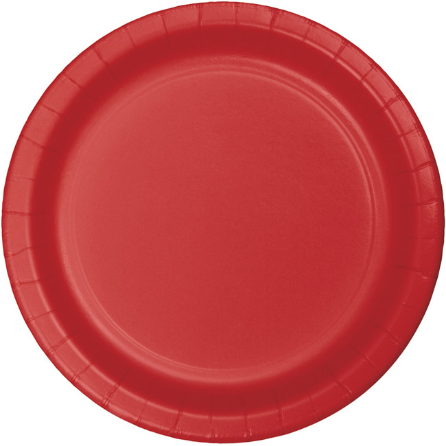 Red Heavy Duty 10 Inch Paper Plates Red Paper And Plastic