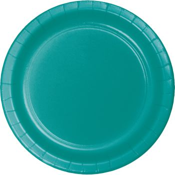 Teal Heavy Duty 10 Inch Paper Plates