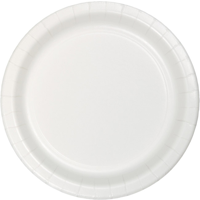 White Heavy Duty 10-inch Paper Plates  sc 1 st  Party at Lewis & White Heavy Duty 10-inch Paper Plates: White Paper and Plastic ...