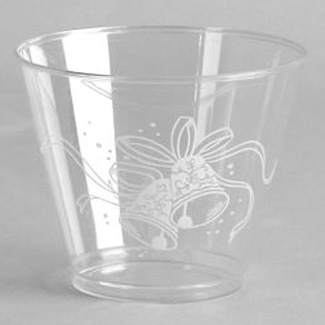 Wedding Bells 9 oz Squat Glasses  sc 1 st  Party at Lewis & Wedding \u0026 Bridal Shower - Party at Lewis Elegant Party Supplies ...