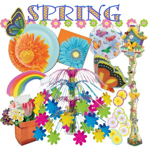 Spring Party At Lewis Elegant Party Supplies Plastic Dinnerware