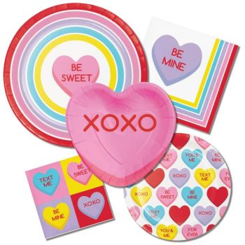 Candy Crush Valentine/'s Day Hearts Theme Holiday Party Paper Beverage Napkins