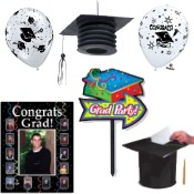 Graduation party supplies and decorations