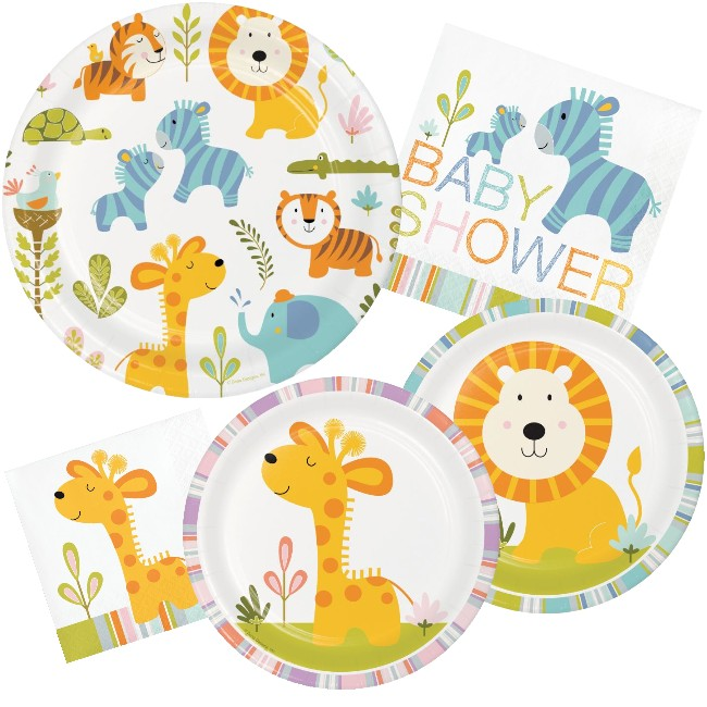 Happy Jungle Baby Shower Party At Lewis Elegant Party Supplies
