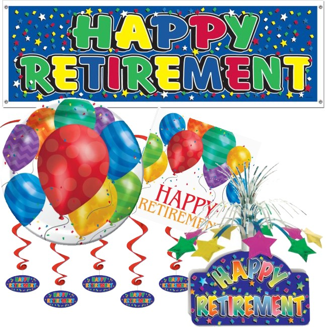 Balloon Blast Retirement  sc 1 st  Party at Lewis & Balloon Blast Retirement: Party at Lewis Elegant Party Supplies ...