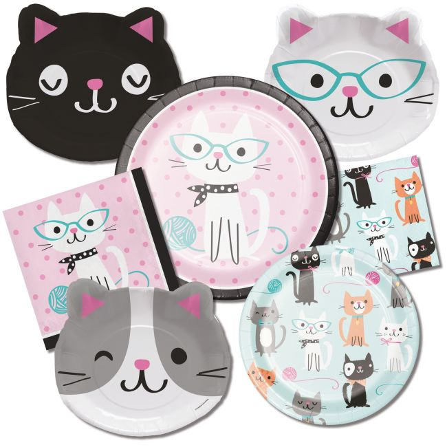 Purr-Fect Kitty Cat Party  sc 1 st  Party at Lewis & Purr-Fect Kitty Cat Party: Party at Lewis Elegant Party Supplies ...