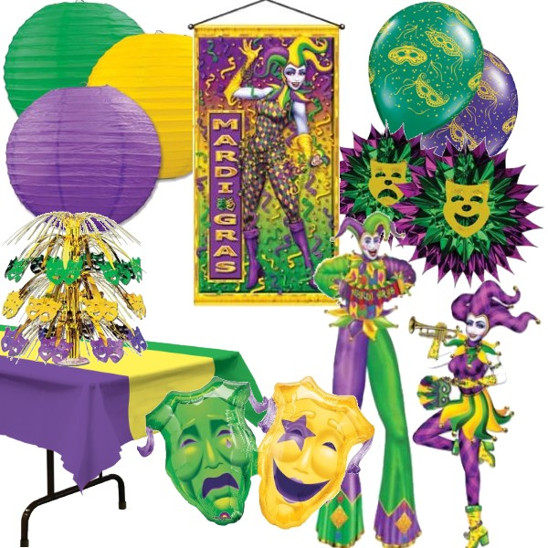 813fa3d2947 Mardi Gras Decorations: Party at Lewis Elegant Party Supplies ...