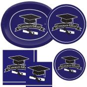 Purple Graduation party supplies and decorations