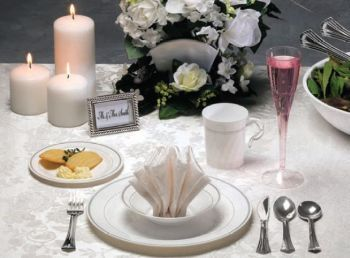 Masterpiece China Like Dinnerware & Masterpiece plastic plates - Party at Lewis