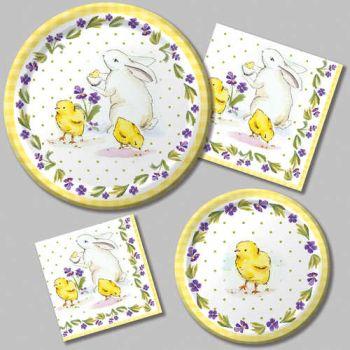 Classic Easter Paper Plates u0026 Napkins  sc 1 st  Party at Lewis & Classic Easter Paper Plates u0026 Napkins: Party at Lewis Elegant Party ...