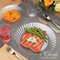 Shop for Clear Plastic Tableware & Clear Plastic Plates Clear Plastic Dinnerware - Party at Lewis