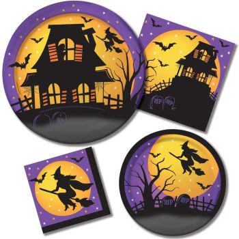 House of Fright Paper Plates & Napkins
