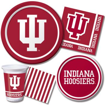 Indiana Hoosiers: Party at Lewis Elegant Party Supplies