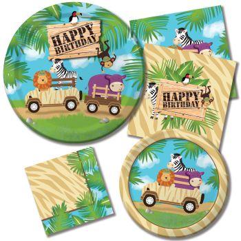 Safari Adventure  sc 1 st  Party at Lewis & Safari Adventure: Party at Lewis Elegant Party Supplies Plastic ...