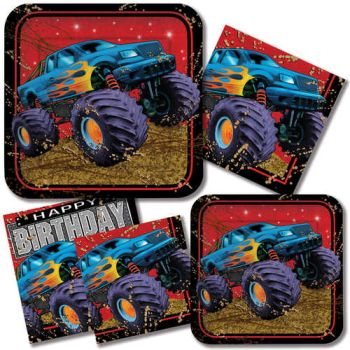 Mudslinger Monster Truck Birthday