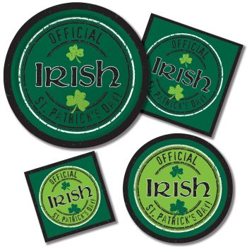 Officially Irish Paper Plates & Napkins