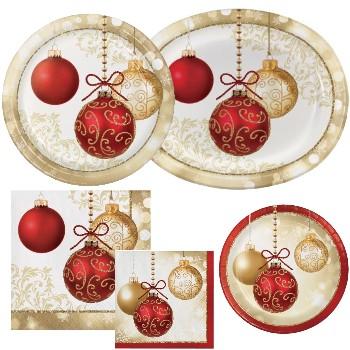 Opulent Ornaments Paper Plates \u0026 Napkins  sc 1 st  Party at Lewis & Opulent Ornaments Paper Plates \u0026 Napkins: Party at Lewis Elegant ...