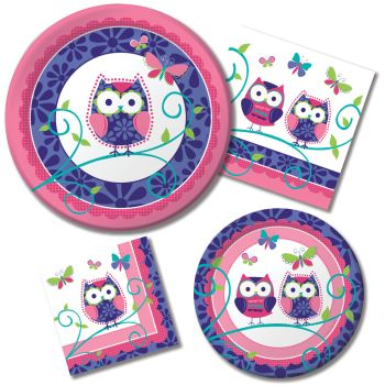 Shop for Owl Pal  sc 1 st  Party at Lewis & Owl Pal - Party at Lewis Elegant Party Supplies Plastic Dinnerware ...