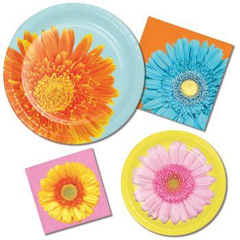 Petal Pop Daisy Paper Plates u0026 Napkins  sc 1 st  Party at Lewis & Petal Pop Daisy Paper Plates u0026 Napkins: Party at Lewis Elegant Party ...
