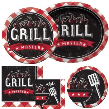 Summer Sizzle Paper Plates & Napkins
