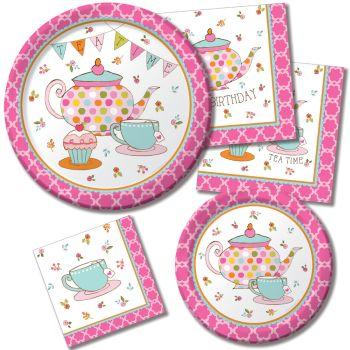 Shop for Tea Time  sc 1 st  Party at Lewis & Tea Time - Party at Lewis Elegant Party Supplies Plastic Dinnerware ...