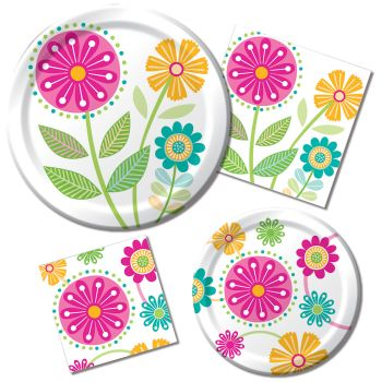 Whimsy Paper Plates & Napkins