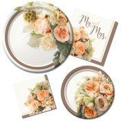 Wedding Paper Plates Napkin