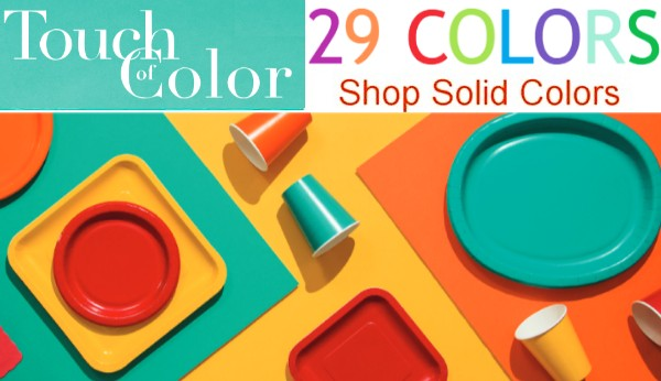 Touch of Color paper and plastic tableware & Paper Plates u0026 Napkins for any Holiday or Occasion: Party at Lewis ...